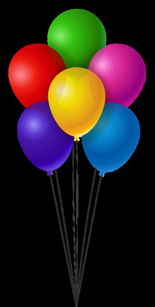 balloons, colorful, birthday